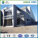 Almacén prefabricado ligero prefabricado/taller de la estructura de acero