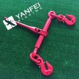 Cargador de carga tipo trinquete para cadena de amarre