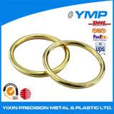 Personalizar el anillo de latón de latón de Precisión de mecanizado CNC a través de la parte