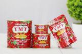 Gino Qualidade 2200 G Canned Tomato Paste com Normal Aberto Tin