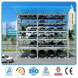 Personalizzare il parcheggio prefabbricato dell'automobile della struttura d'acciaio della vernice