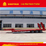 50ton 판매를 위한 낮은 침대 트레일러 또는 반 트럭 트레일러