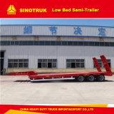 remorques inférieures de remorque/semi de camion du bâti 50ton à vendre