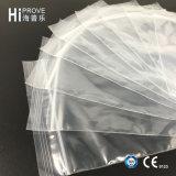Sacchetto di plastica stampato marca della serratura della chiusura lampo di Ht-0535 Hiprove