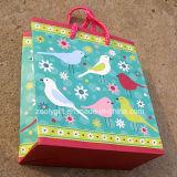 Modificar bolso de papel del regalo para requisitos particulares de la impresión del pájaro el pequeño