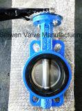 Тип клапан-бабочка вафли API 150lb/JIS 5k/10k с рукояткой
