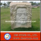Estatua de piedra de calidad superior para la figura escultura de la plaza