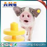 A RFID em4305 Eid do animal para o gado da marca auricular Rastreamento de animais