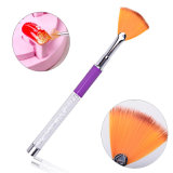 Crystal DIY Professional Acrylique UV Gel Builder Dessin Nail Art Brushes