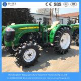 40/48/55台のHPの小型か農業かコンパクトか小さいですまたはディーゼル農場または庭のトラクターを耕作する4WD車輪