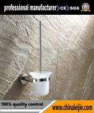Supporto di spazzola fissato al muro della toletta degli accessori della stanza da bagno (LJ55412)