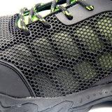 Черные ботинки безопасности тавра Kpu верхние Китая