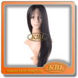 Peruca de seda do laço com cabelo do brasileiro da classe 5A