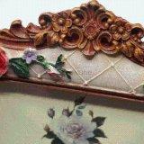 型デザイン3D花の樹脂の写真の額縁