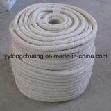 高温。 熱抵抗のセラミックファイバの編みこみの円形のシーリングロープ