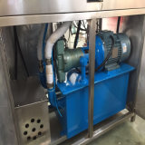 Detalhes secos da série da máquina de gelo do bloco