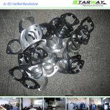 Het Aluminium die van de douane Delen machinaal bewerken door Zwart Met een laag bedekt Poeder