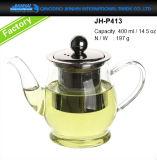 400-800ml abono de panelas de vidro pote de água para chá