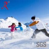Водоустойчивая и Breathable напольная куртка лыжи (QF-621)