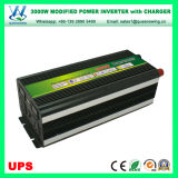 de Omschakelaar van de 3000WDC12V/24V AC110V/220V UPS Macht met Lader (qw-M3000UPS)