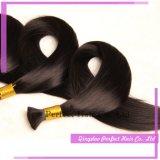 Pacotes de cabelo de amostra grátis Virgin Russian Cheyque de cabelo humano