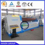 machine à cintrer W12S-8X4000 du carbone d'acier de roulement universel de plaque