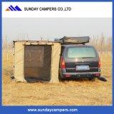 Tenda laterale piegante del tetto del baldacchino dell'automobile della tela di canapa esterna