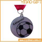 エポキシのコーティング(YB-m-009)が付いているスポーツ亜鉛合金の金属のスポーツメダル