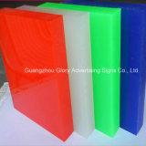 Прозрачный литого акрилового волокна для рекламы и светодиодного освещения