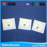 Embutido seco etiqueta elegante imprimible del Hf de la pequeña NFC