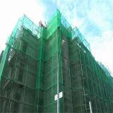 Filet de sécurité vert de protection de chantier de construction de HDPE