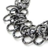 Drie Armbanden van de Ketting van het Metaal van Kleuren voor de Juwelen van de Manier van Vrouwen