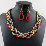 2017人の女性の方法ネックレスのイヤリングの宝石類セット