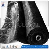 Rete fissa nera del limo tessuta pp della Cina per l'azienda agricola