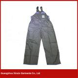 Usure bleu-foncé de travail de couleur de procès de chaudière de vêtements de travail d'hommes de combinaisons de vêtements de travail de façon générale (W41)