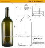 卸し売りボルドー1.5Lの大きいワイン・ボトル(434)