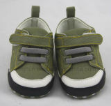Голубые классицистические ботинки младенца Ws1030