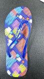 Мягкий EVA флоп опрокидывания при печати на ПВХ ремешка