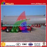 Capaciteit 3560cbm van tri-assen Semi het Verwarmen van het Bitumen van het Asfalt van de Aanhangwagen Tank