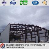 Construction légère d'atelier de structure métallique avec une expérience professionnelle