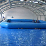Aufblasbarer großer Swimmingpool-kundenspezifischer aufblasbarer Produkt-Wasser-Park