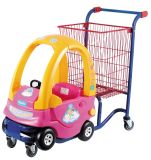 Supemarket Kind-Laufkatze mit Baby-Sitz