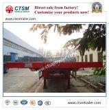 Luft-Aufhebung-Flachbett-halb LKW-Schlussteil ISOsgs-CCC