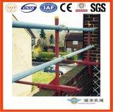 A grade de proteção a braçadeira para proteção de borda com uma gama 205mm-610mm