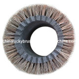 schoonmakende Borstel van Galss van het Haar van het Paard van de Diameter van 150mm de Buiten (yy-269)