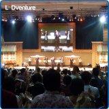 Affitto gigante dell'interno per gli eventi, congresso, vite, partiti del comitato di colore completo LED