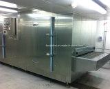 Congelador rápido do túnel do bolo IQF do bolinho de massa/congelação rápida para China