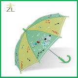 190t 폴리에스테 가장 싼 똑바른 아이 동물 우산