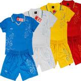 人の袖なしのフットボールのスポーツシャツ(S016)