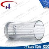 tazza di vetro dell'acqua della radura di figura del cilindro 240ml (CHM8042)